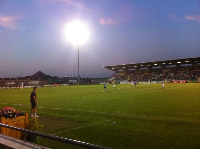 Shamrock Rovers Manager Trevor Croly