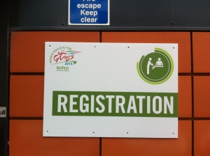 The first sign: Registration