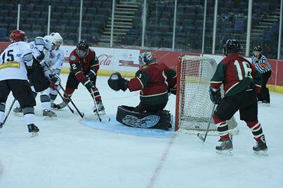 SW Finland Emergency Services on way to 8-0 win over Las Vegas Guns & Hoses Photo: WPFG