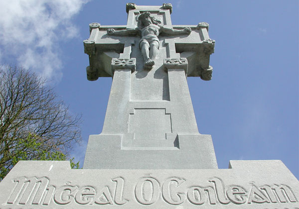 Béal na mBláth memorial for Michael Collins Photo: © Coppeen Heritage Colum Cronin