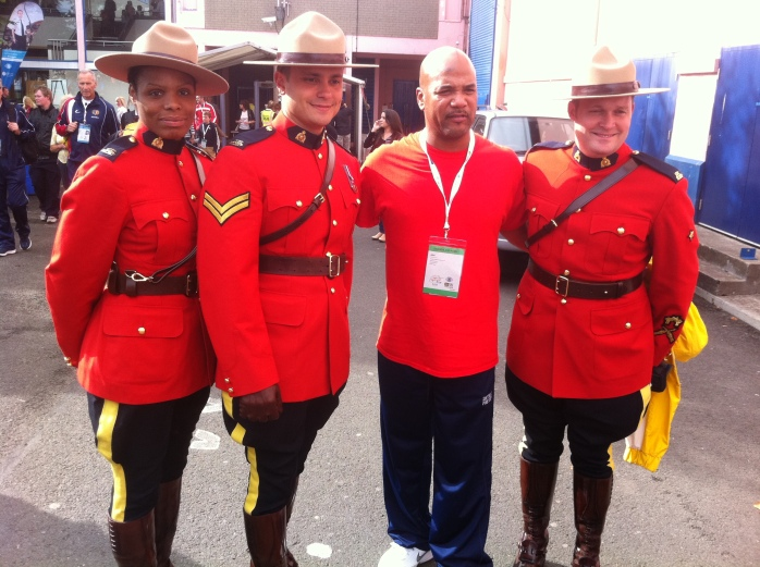 Here come the Mounties (RCMP) !!