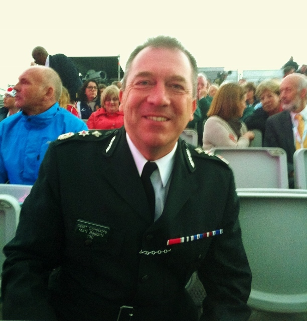 PSNI Chief Constable (and Crystal Palace fan) Matt Baggott