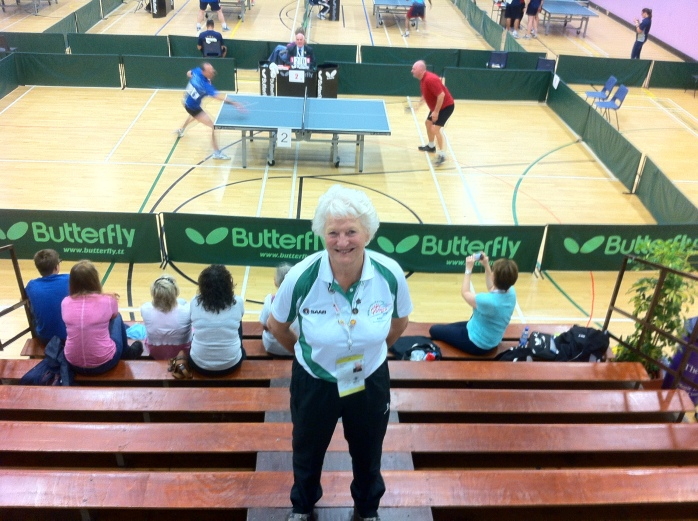 WPFG Games Patron Dame Mary Peters at the Valley Leisure Centre