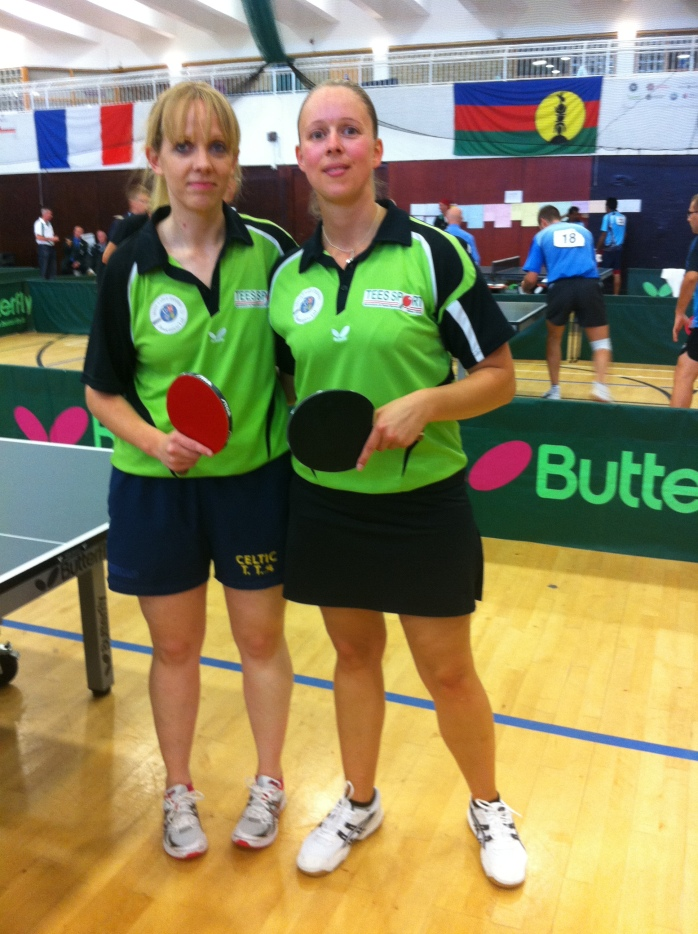 Garda Louise Long & Susanne Eckholdt (bronze medallists)