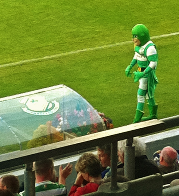 Hooperman in action at Tallaght