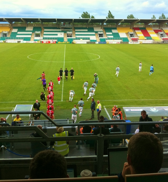 Shamrock Rovers v Sligo Rovers © Michael Fisher