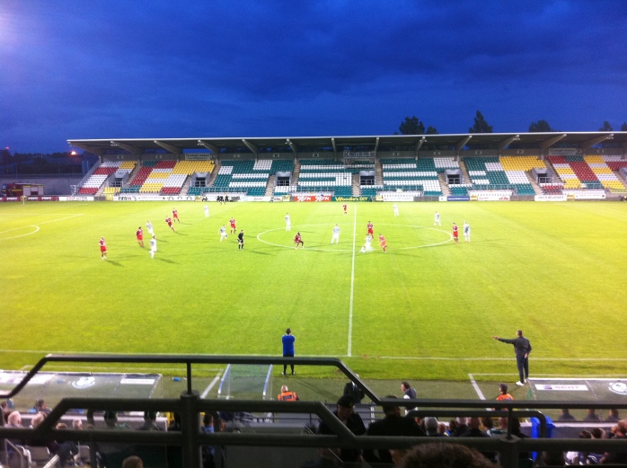 Shamrock Rovers v Sligo Rovers 2nd half