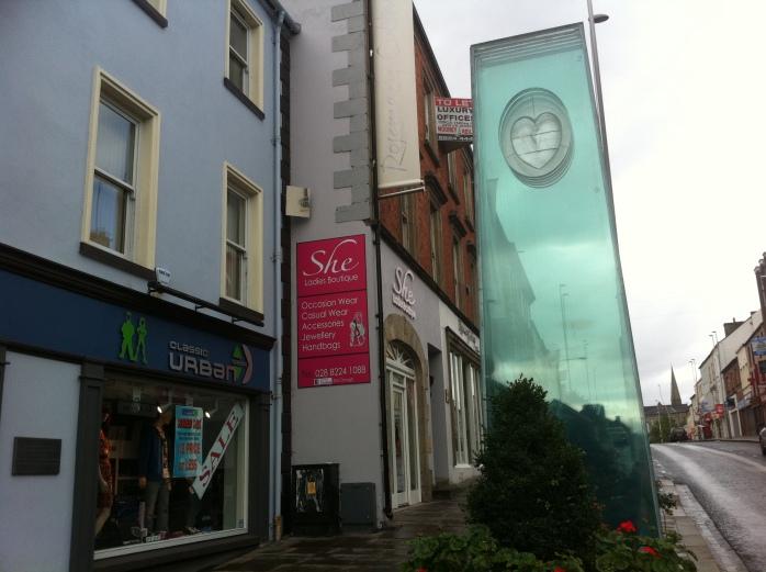 Market Street Omagh: Bomb Memorial