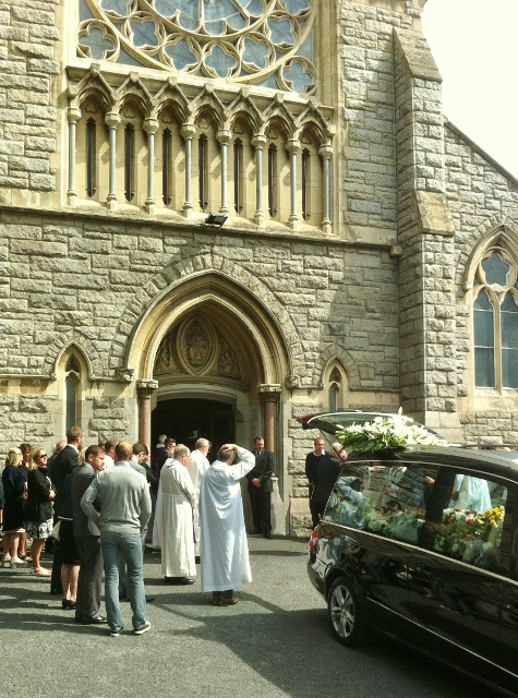 Funeral of Kevin Feeney