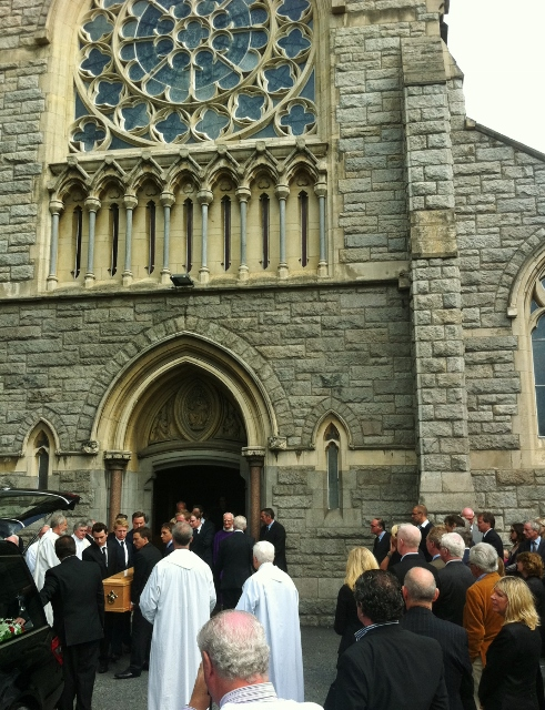Funeral of Kevin Feeney RIP