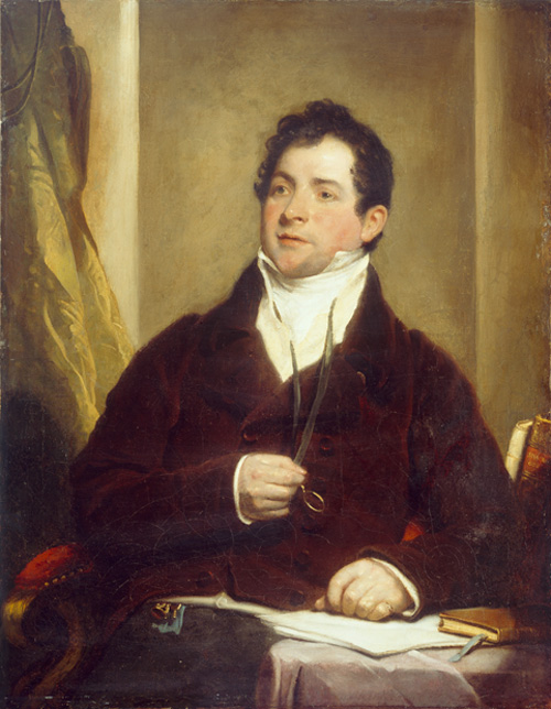Thomas Moore, by Martin Shee c.1817. © National Gallery of Ireland