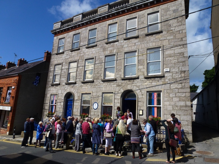 Group gathers at Monaghan County Museum for walking tour
