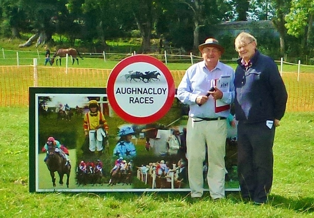 Martin McCarron, Secretary Aughnacloy Races and Michael Fisher