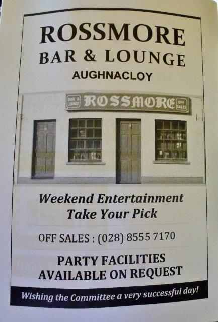 Rossmore Bar advertisement