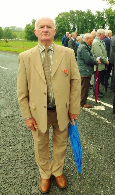 Cllr Paddy McGowan MBE, former fireman