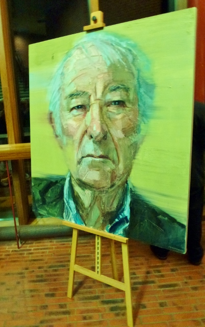 Seamus Heaney Portrait: Colin Davidson Photo: Michael Fisher