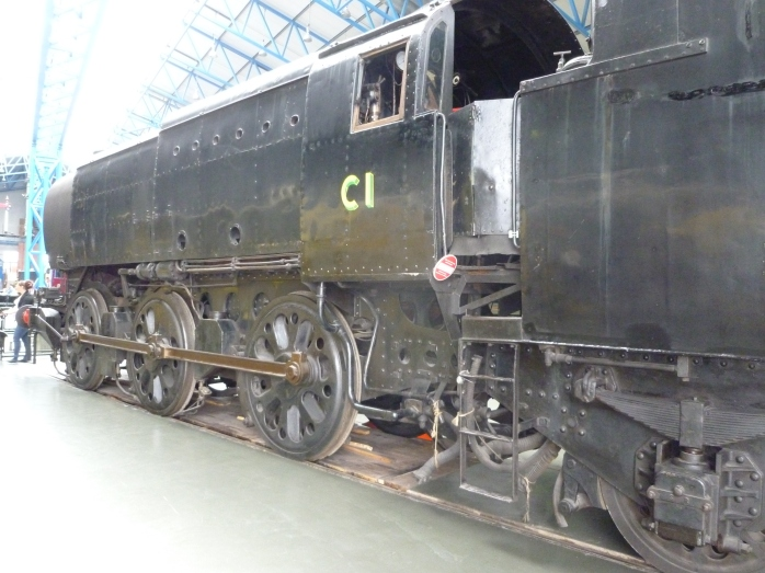 Southern Railway Bulleid Q1-class No.C1 (33001) at National Railway Museum, York Photo: © Michael Fisher