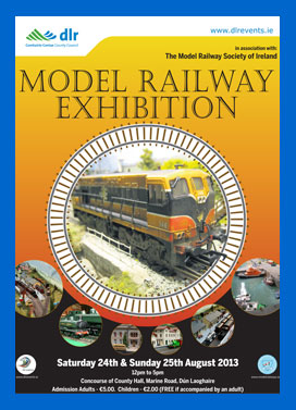 Model Railway Exhibition Dún Laoghaire Poster