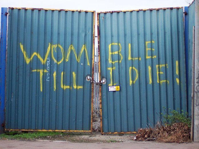 Plough Lane Gates Photo: CC Licence Wiki