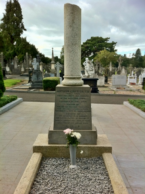 Grave of Arthur Griffith TD Photo: © Michael Fisher