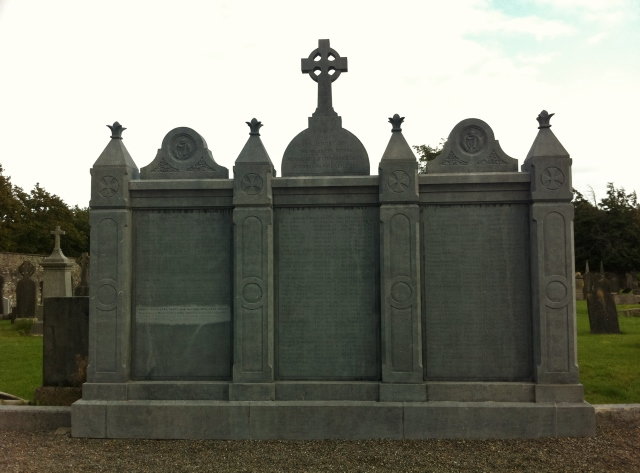 RIC Plot Glasnevin Cemetery Photo: © Michael Fisher