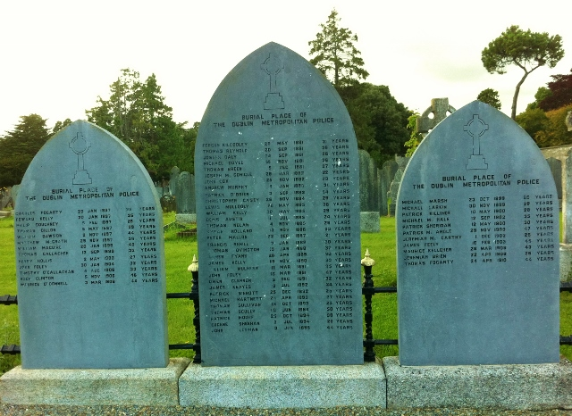 DMP Plot Glasnevin Cemetery Photo: © Michael Fisher