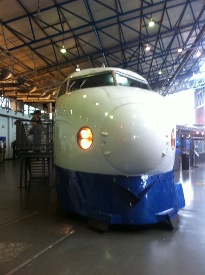 Shinkansen: Japanese Bullet Train at NRM York Photo: © Michael Fisher