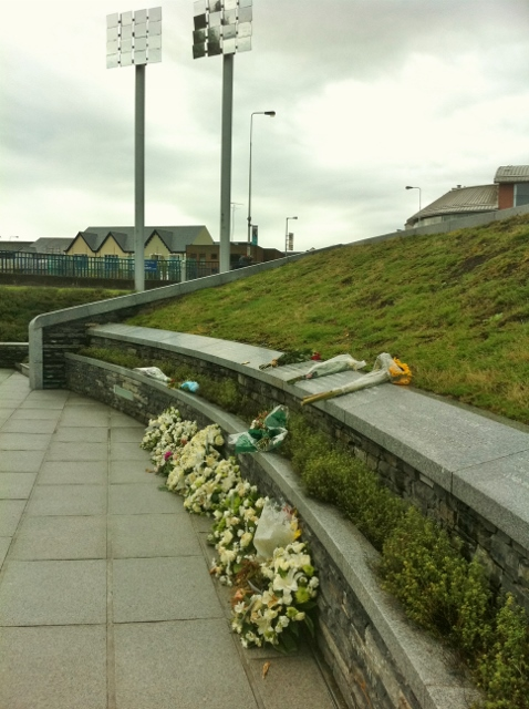 Omagh Bomb Memorial Garden Photo: © Michael Fisher
