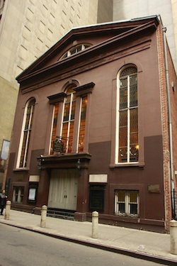 John Street Methodist Church New York: Photo: © Kevin Staley-Joyce
