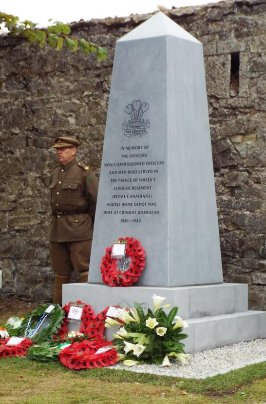 Leinster Regiment Memorial in Birr Photo: © Ray Hayden