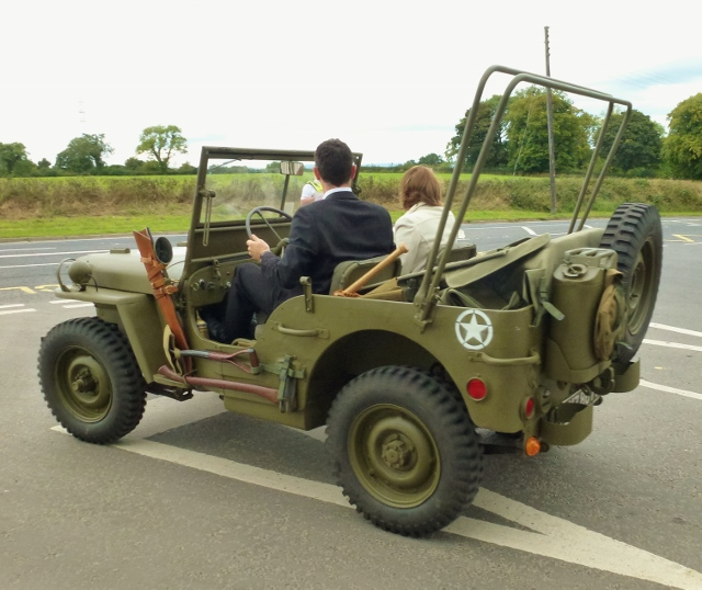 WWII US Army Jeep in Castlereagh Photo: © Michael Fisher