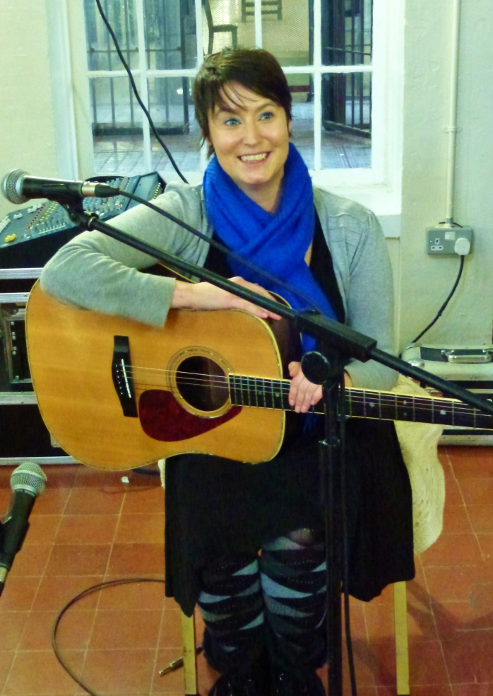 Edelle McMahon at Crumlin Road Gaol Photo: © Evelyn Fisher