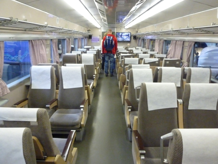 Interior Japanese Bullet Train at NRM York Photo: © Michael Fisher