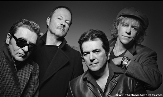 The Boomtown Rats: 2013 Photo: www.boomtownrats.com