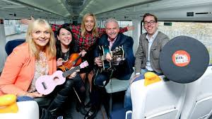 RTÉ presenters launch Big Music Week at Dún Laoghaire Photo: Maxwell Photography