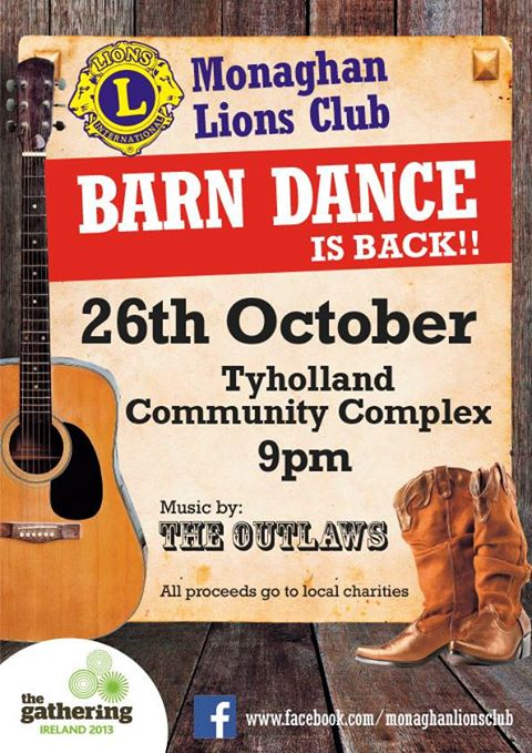 Monaghan Lions Club Poster