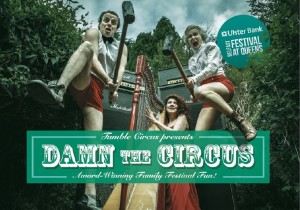 Damn the Circus at the Belfast Festival at Queen's