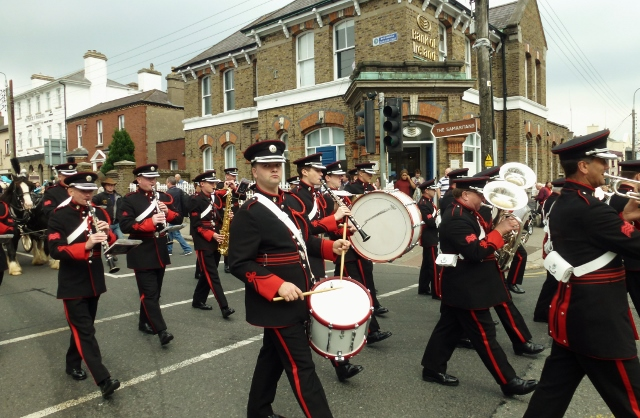 Army No.1 Band in Newbridge Photo: © Michael Fisher
