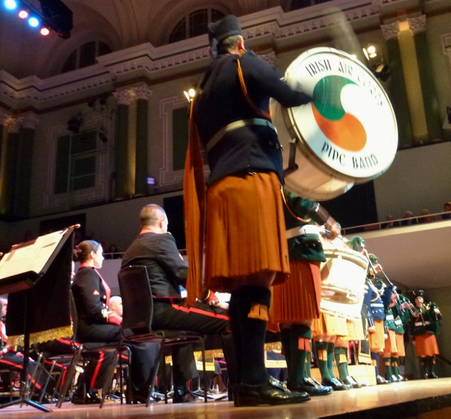 Pipes & Drums at the Concert Photo: © Michael Fisher