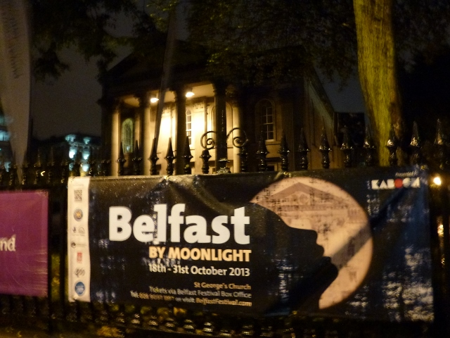 Kabosh: Belfast by Moonlight at St George's Church Photo: © Michael Fisher
