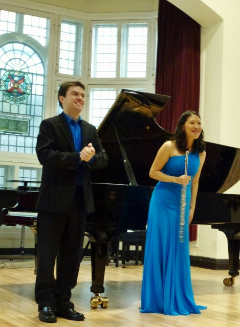 Cathal Breslin & Sabrina Hu Photo: © Michael Fisher