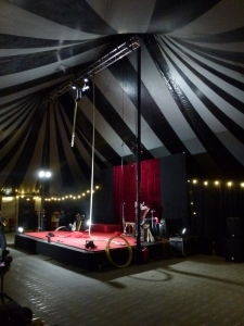 Damn the Circus Tent in Belmont Park Photo: © Michael Fisher