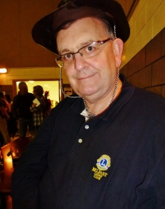 Michael Fisher, Belfast Lions Club supporting the Monaghan Lions event Photo: © Evelyn Fisher