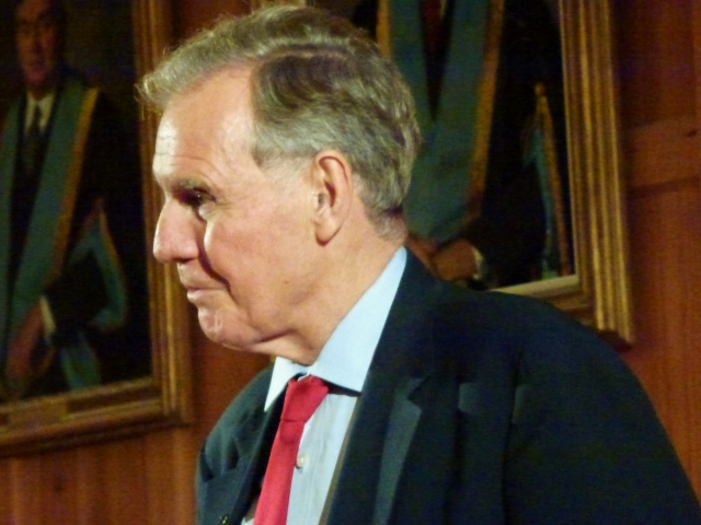 Jonathan Aitken at the Belfast Festival  Photo: © Michael Fisher