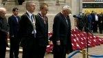 Armistice Day Belfast  Picture: BBC News NI