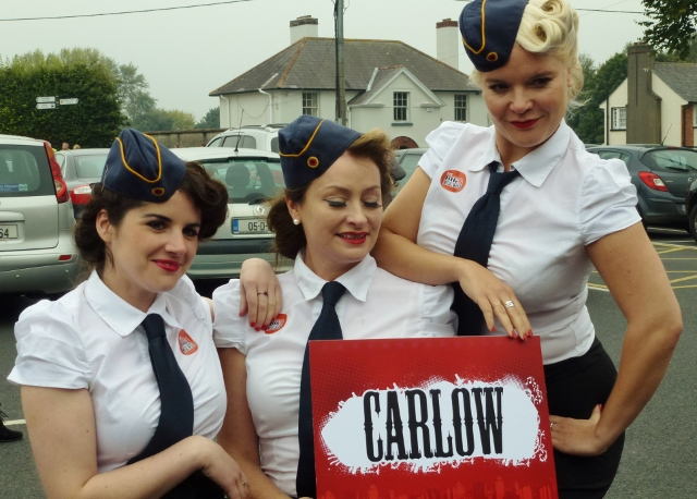 The Bugle Babes in Carlow  Photo: © Michael Fisher