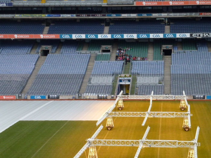 Croke Park pitch  Photo: © Michael Fisher