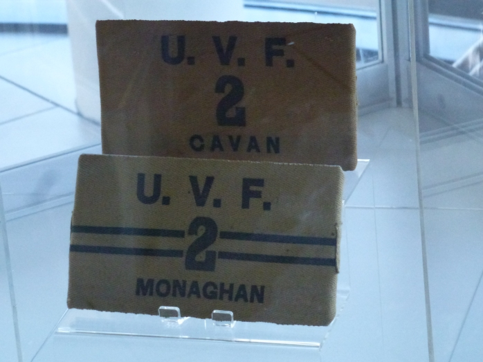 UVF armbands from Cavan and Monaghan  Photo: © Michael Fisher