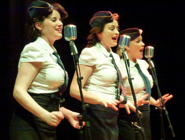 The Bugle Babes  Photo: © Michael Fisher