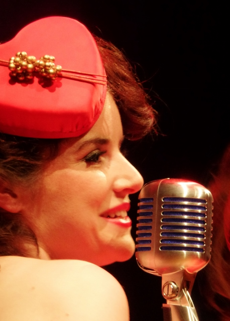 Eileen Coyle of the Bugle Babes  Photo: © Michael Fisher